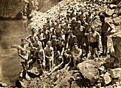 Summer in Modro Jezero in 1930-ies